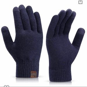 Other - Brand New Navy Touch Screen Gloves